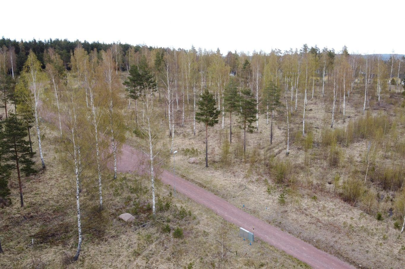 Solhöjden bostadsområde i Ödkarby, Saltvik