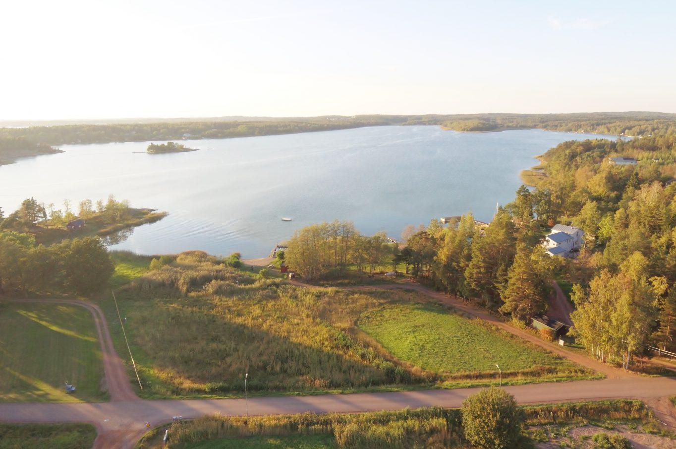 Natursköna bostadstomter på Björkudden, Lemland.