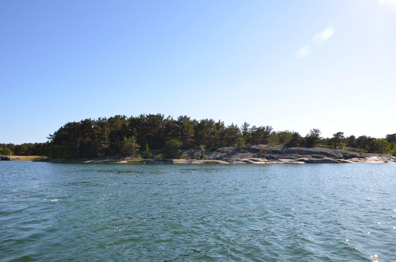 Strandfastighet på Alholmen, Kumlinge By