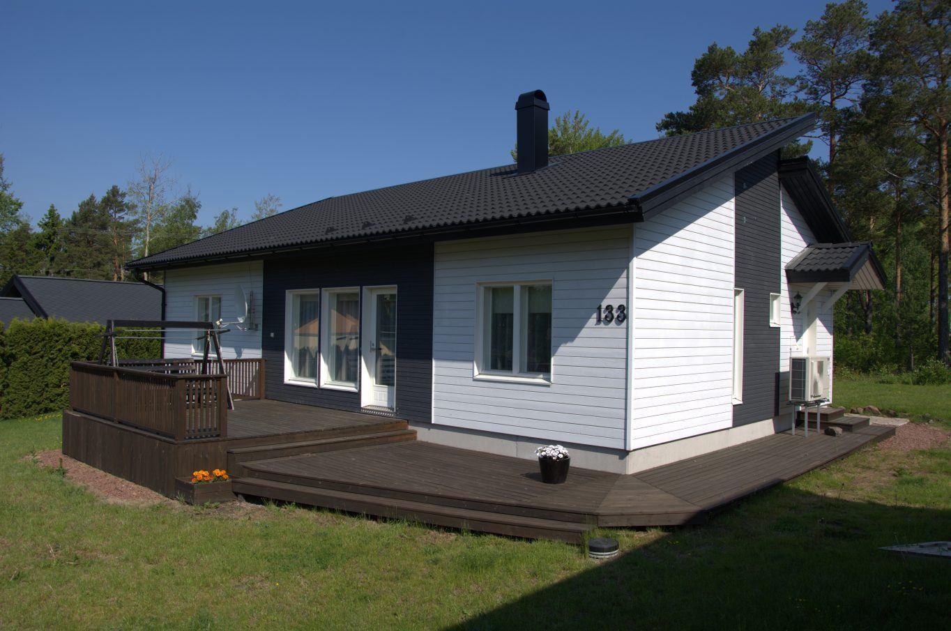 Bostadshus i Degerby, Föglö.