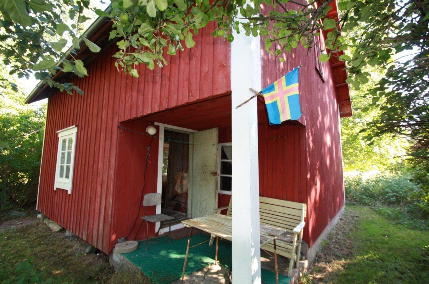 Bostadshus i Kumlinge by