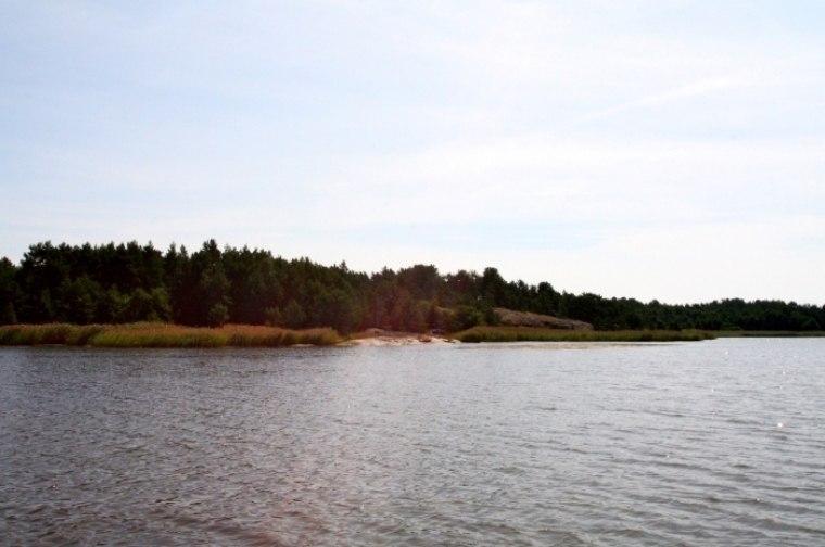 Strandområde på Alholmen i Kumlinge by och kommun