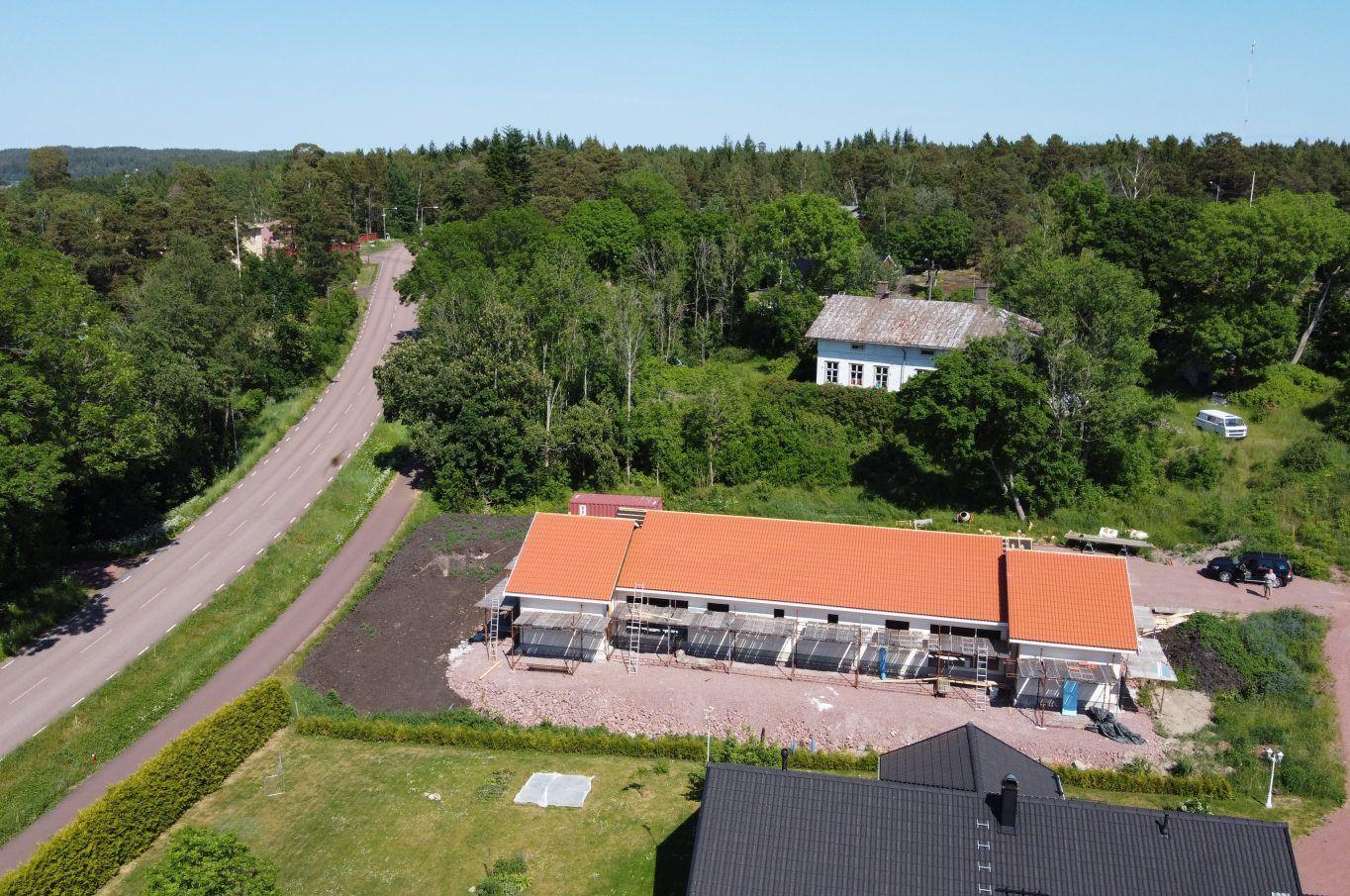 Parhuslägenheter i Godby, Finström.
