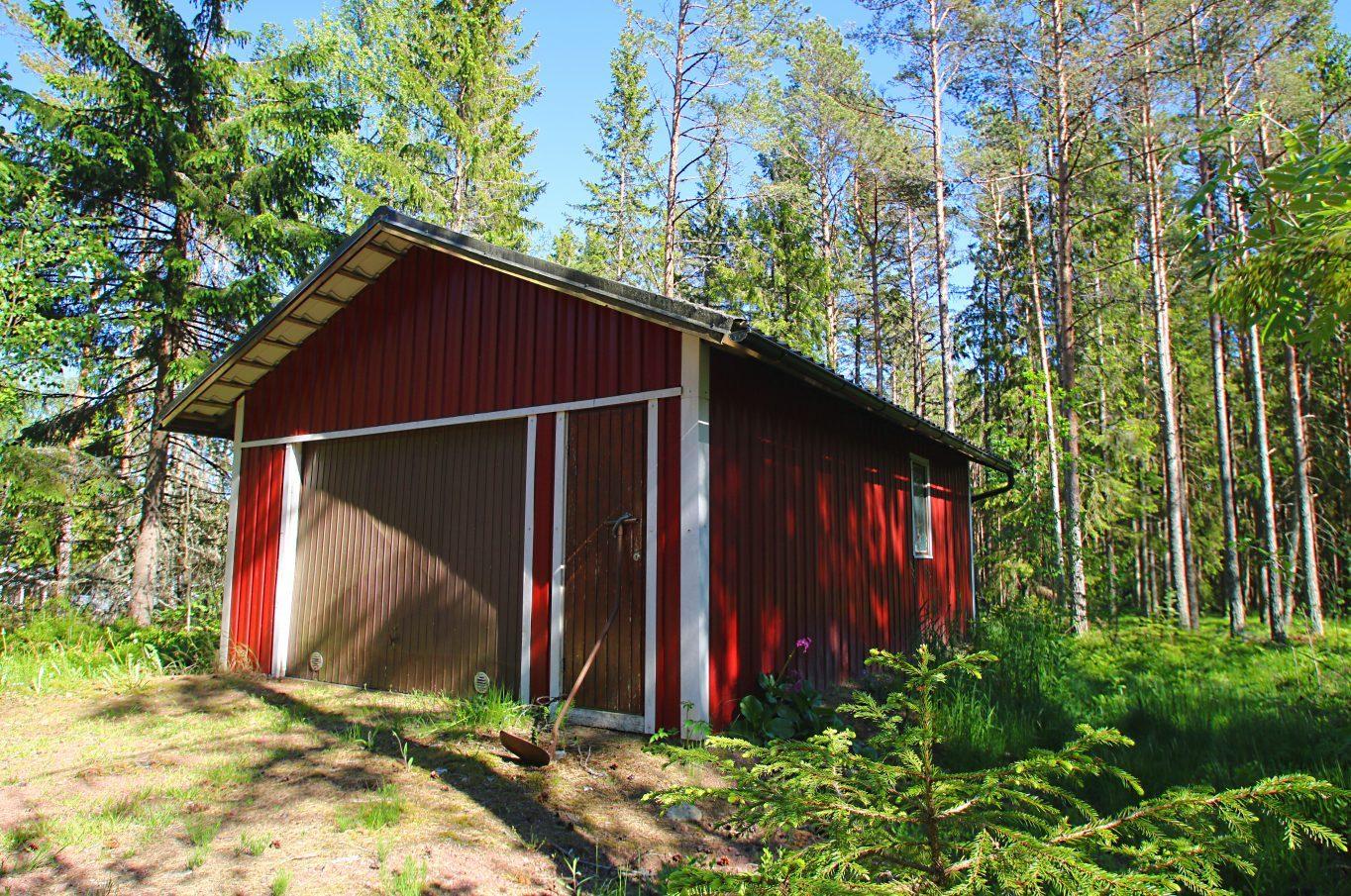 Fritidsbostad vid insjö i Vassböle, Saltvik