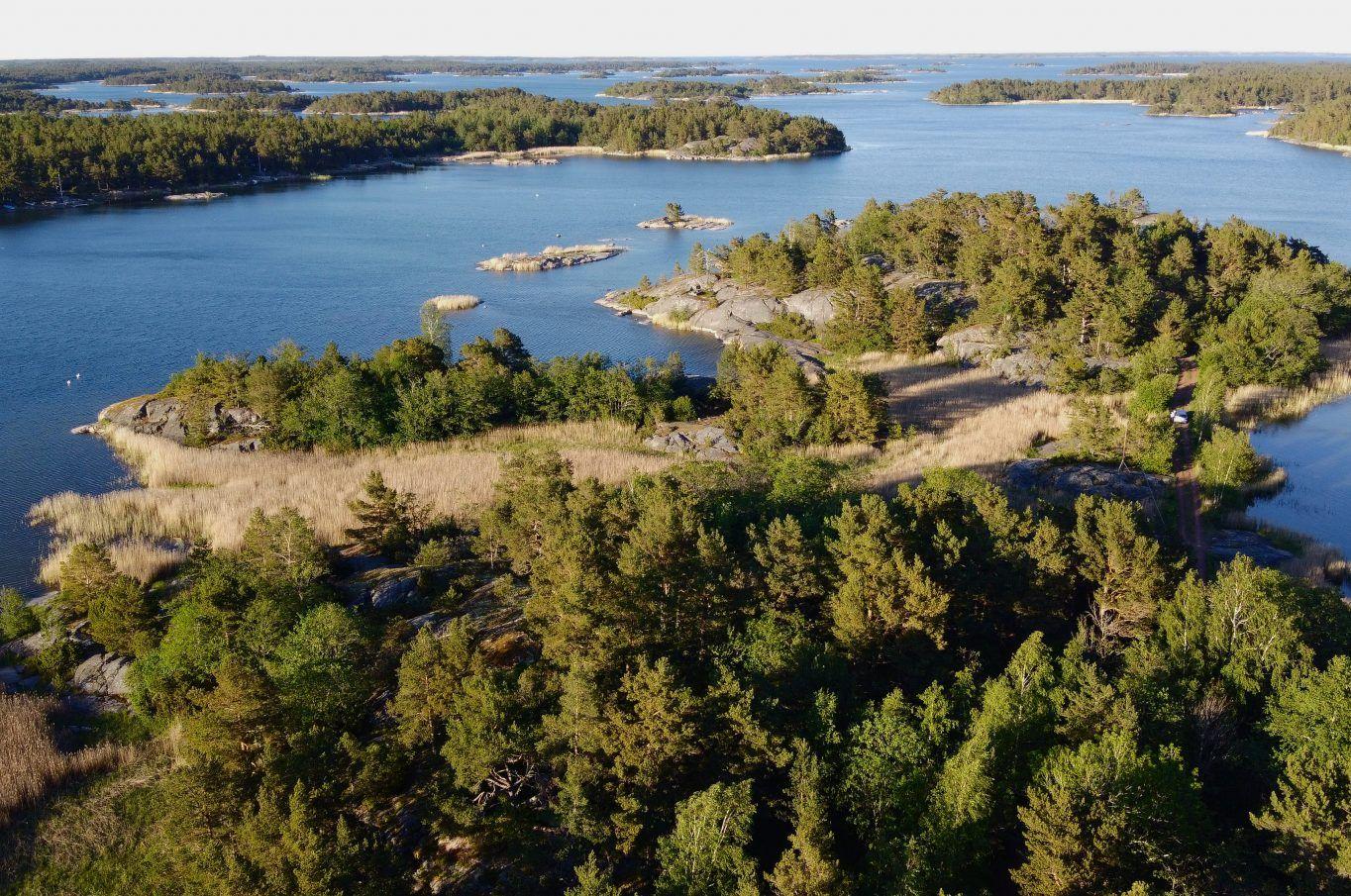 Ett ca 1 ha stort strandområde i Föglö