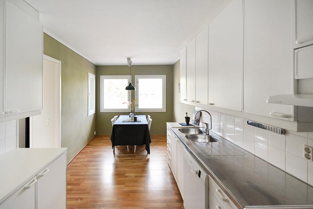 Renoverad lägenhet vid Ekstigen 8 i Mariehamn