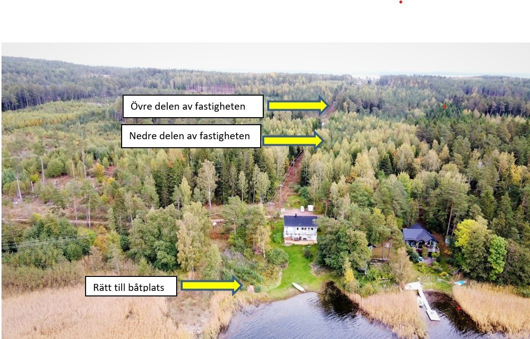 Bostadstomt med båtplats i Sålis, Saltvik