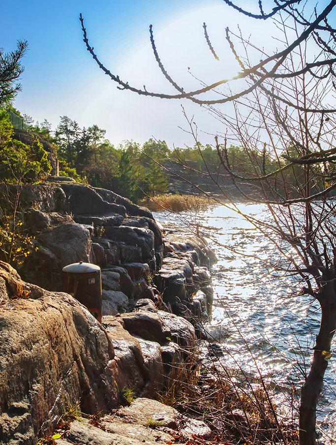 Fritidsbostad med vacker strandtomt i Dånö, Geta