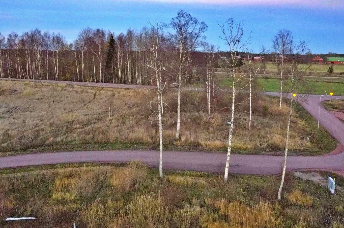 Bostadstomter vid Björkslingan i Björsby, Jomala