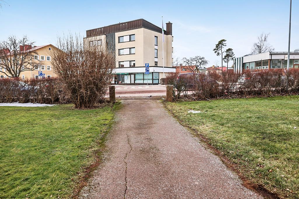 Lägenhet centralt vid Skarpansvägen i Mariehamn