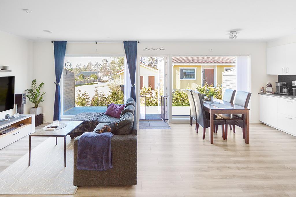 Gavellägenhet om 3 rum och kök vid Barrvägen i Finström