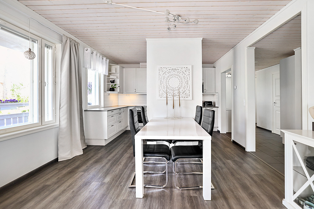Parhuslägenhet om 2 rum och kök vid Svärtesgränd i Mariehamn