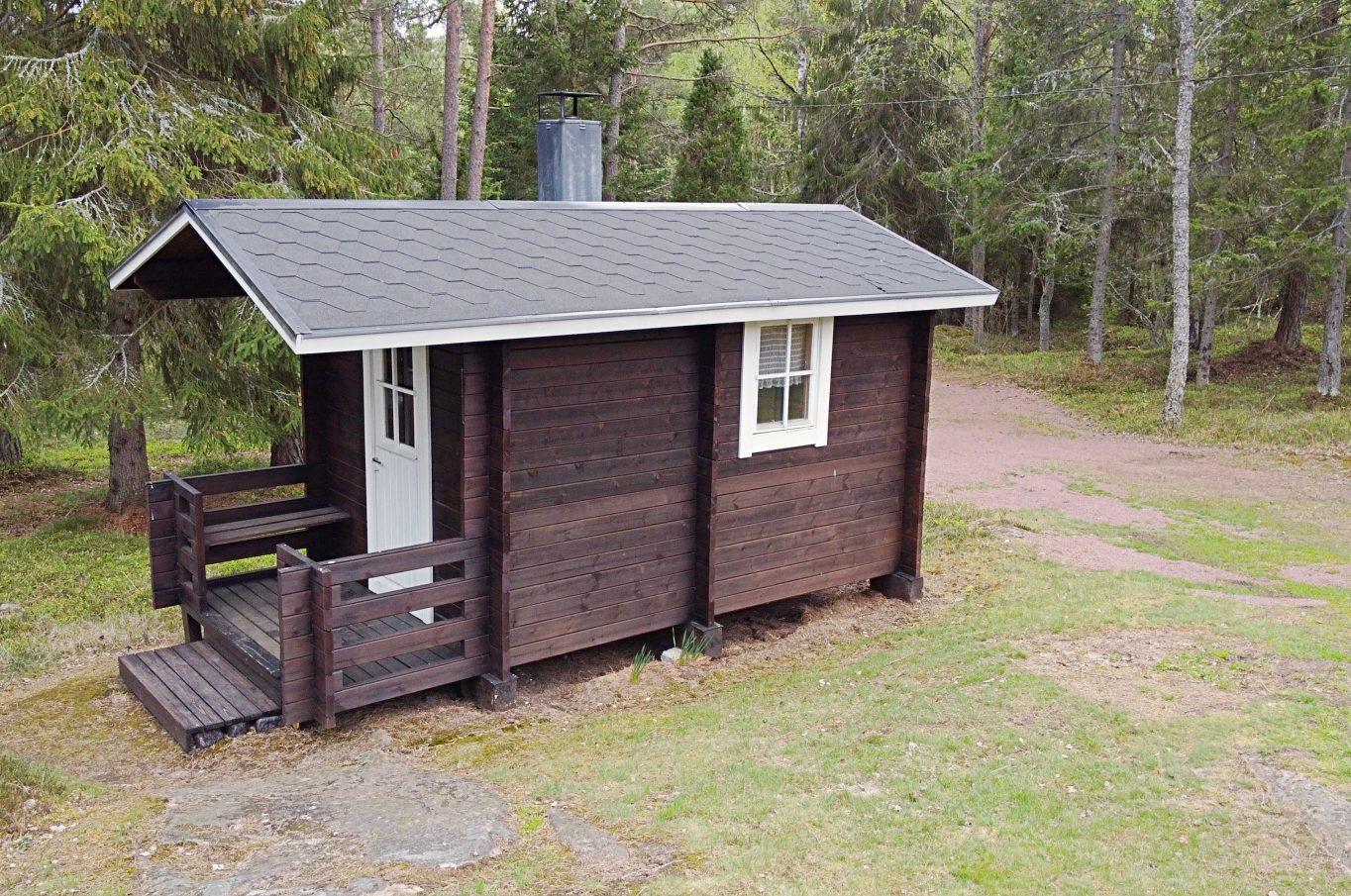 Stuga i Strömbolstad, Sund.