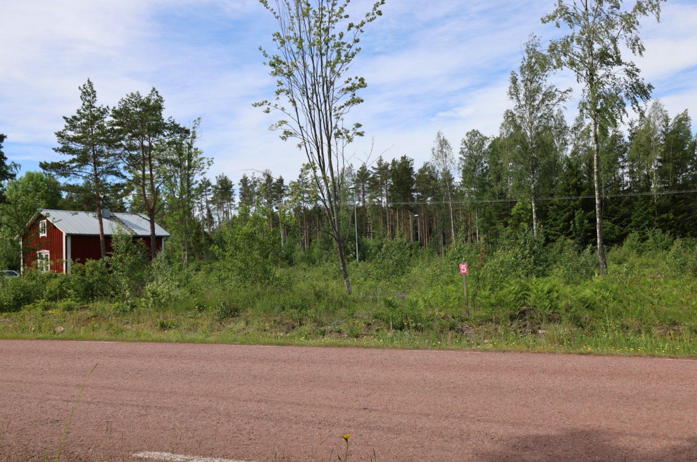 Radhustomter i Överby, Jomala.