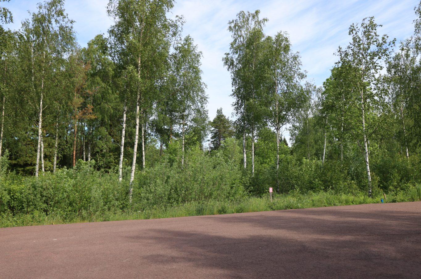 Naturnära bostadstomt i Överby, Jomala.