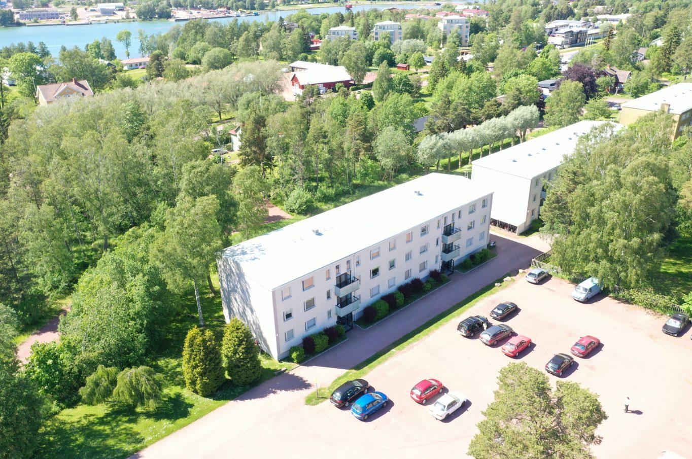 Nyrenoverad lägenhet vid Klintvägen, Mariehamn