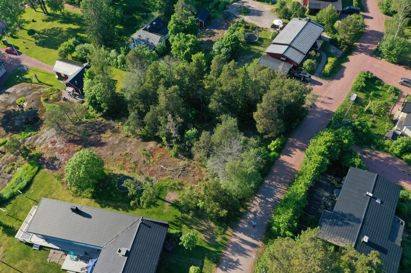 Bostadstomt i Godby, Finström