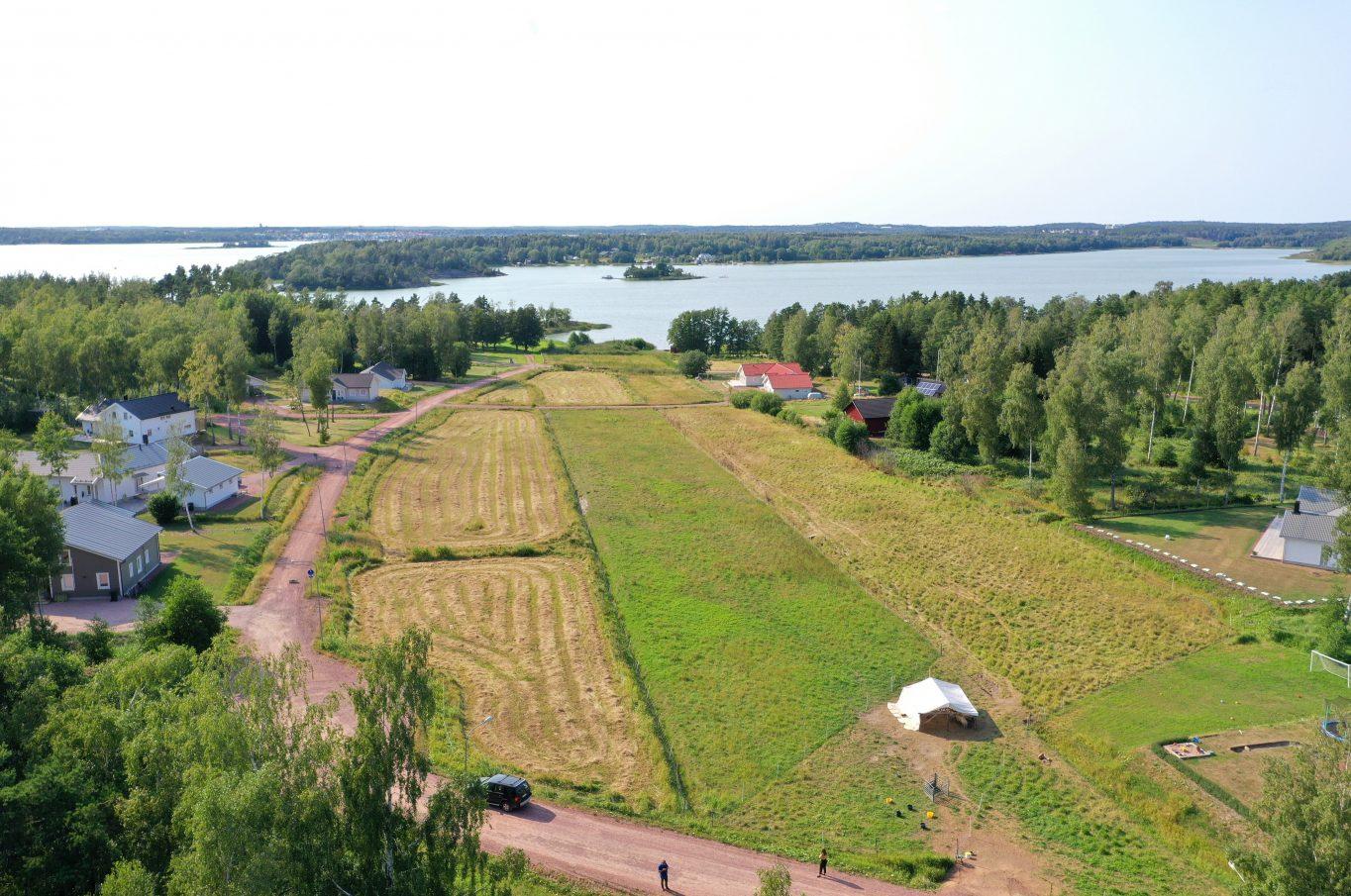 Bostadstomt på Björkudden i Lemböte, Lemland
