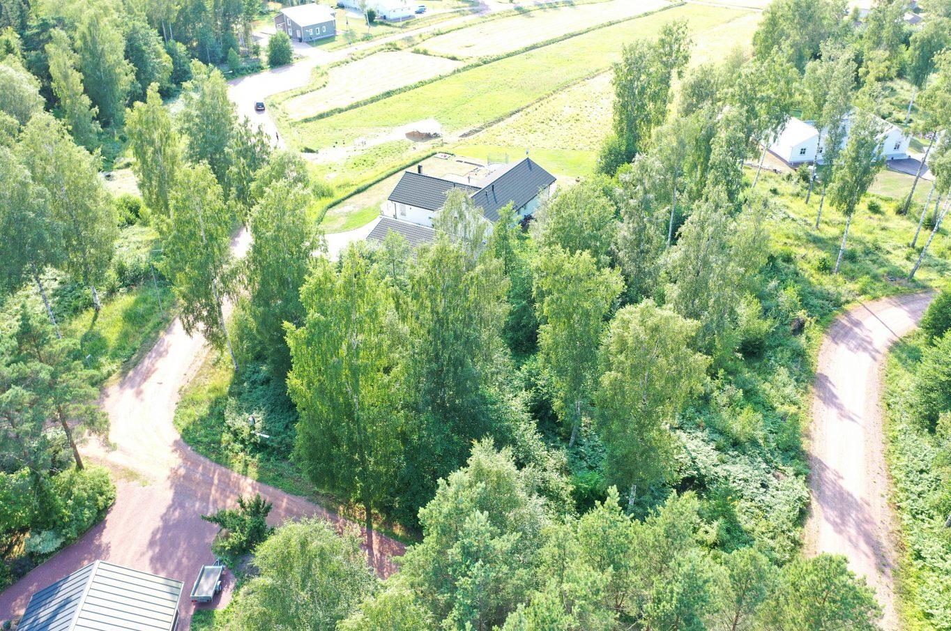 Strandnära bostadstomt vid Björkudden, Lemland