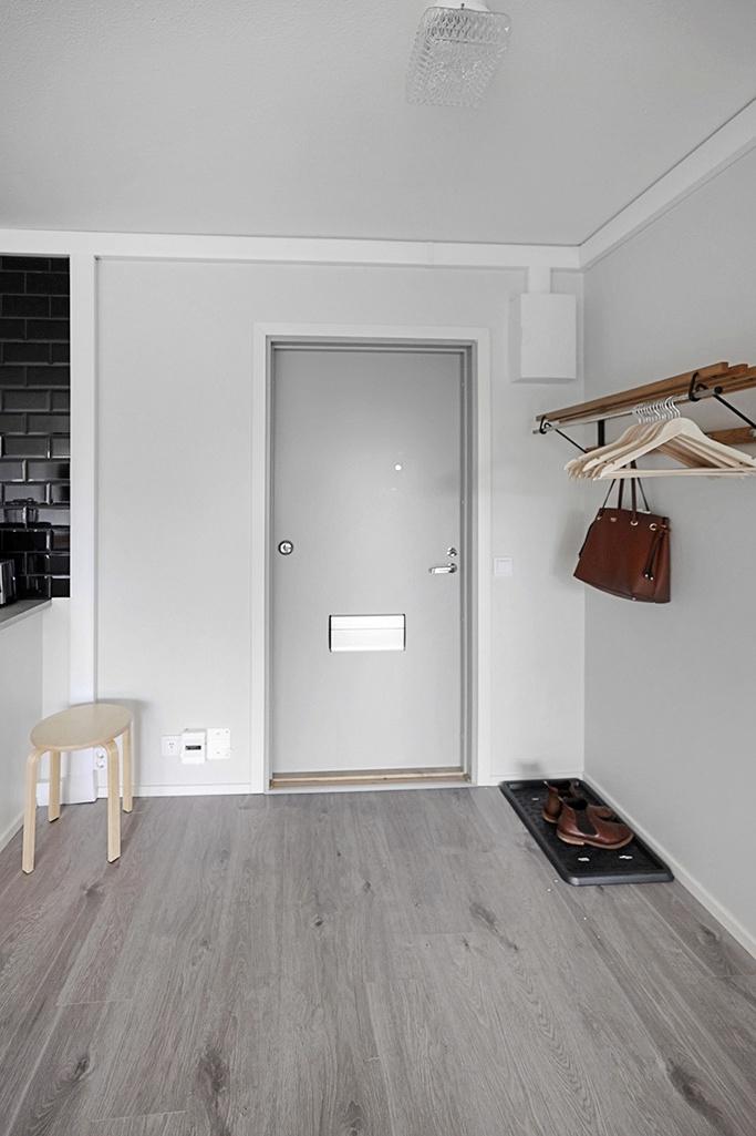 Nyrenoverad lägenhet vid Cedersvägen i Mariehamn